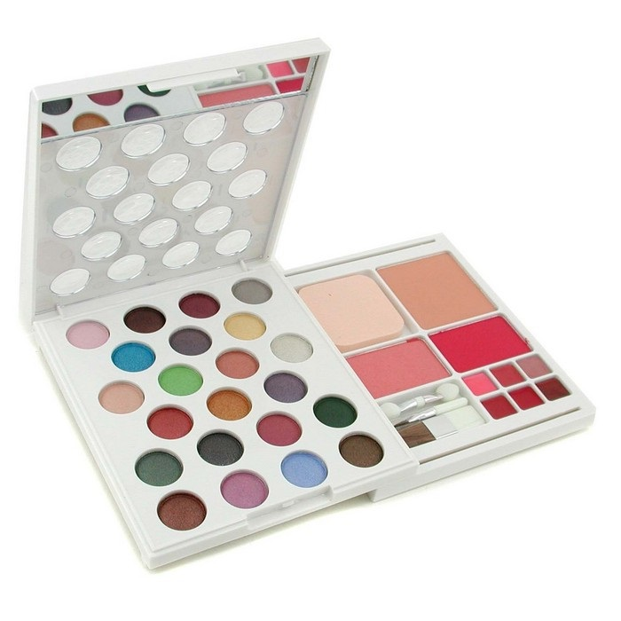 MakeUp Kit MK 0276 (22x Eyeshadow, 2x Blusher, 1x Compact Powder, 6x Lipgloss.....)