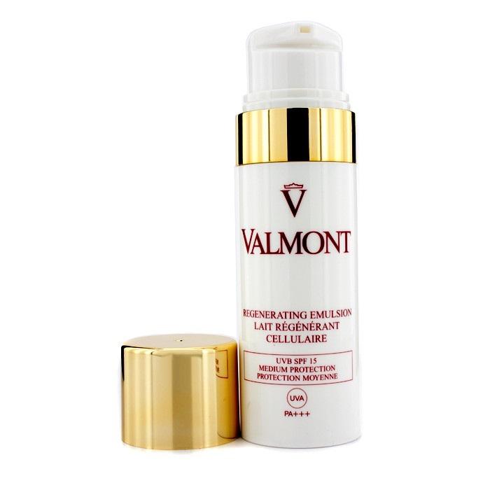 NEW Valmont Sun Cellular Solution Regenerating Emulsion SPF 15 100ml Womens Skin