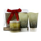H2O+ Sea Salt Spa Trio: Sea Salt Body Wash 120ml + Sea Salt Skin Smoother 340g + Sea Salt Hydrating Body