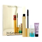 Yves Saint Laurent Mascara Volume Effet Faux Cils Luxurious Set: (1x Mascara, 1x Eye Creme, 1x Eye Makeup Remover)