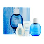 Clarins Eau Ressourcante Coffret: Rebalancing Spray 100ml/3.4oz + Body Cream 50ml/1.7oz + Shower Gel 50ml/1.7oz