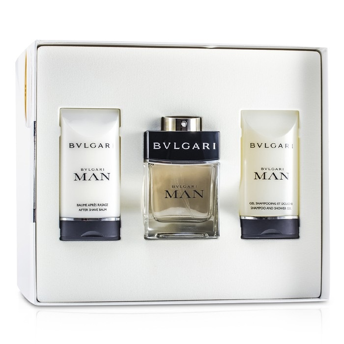 Man Coffret: Eau De Toilette Spray 60ml/2oz + After Shave Balm 75ml/2.5oz + Shampoo & Shower Gel 75ml/2.5oz