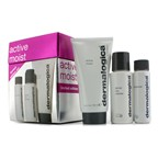 Dermalogica Active Moist Limited Edition Set: Active Moist 100ml + Dermal Clay Cleanser 50ml + Precleanse 30ml