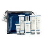 Glotherapeutics Fly With Me Travel Kit (For Normal to Oily Skin): Cleanser + Scrub + Moisturizer + Oil Free SPF 40+ + Eye Cream
