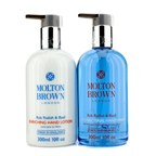Molton Brown The Rok Radish & Basil Anti-Bacterial Hand Care Set: Hand Wash 300ml + Hand Lotion 300ml