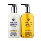 Molton Brown The Rockrose & Pine Hand Care Set: Hand Wash 300ml + Hand Lotion 300ml