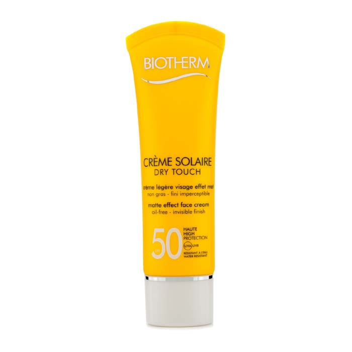 NEW Biotherm Creme Solaire SPF 50 Dry Touch UVA/UVB Matte Effect Face Cream 50ml