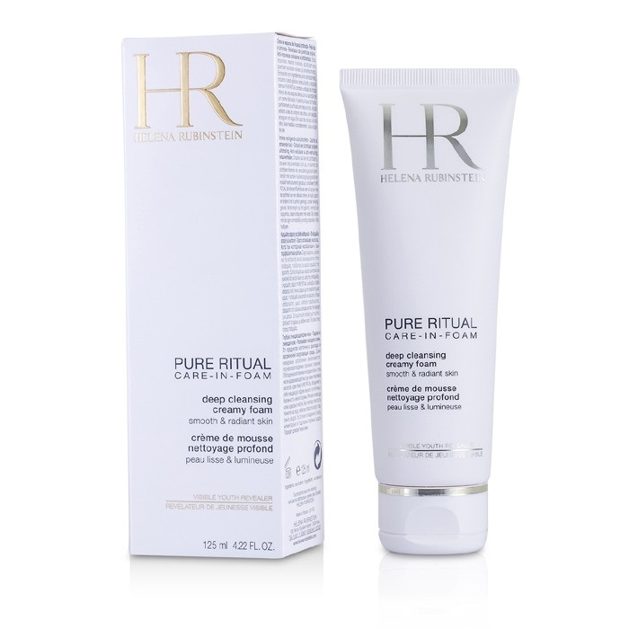 NEW Helena Rubinstein Pure Ritual Deep Cleansing Creamy Foam 125ml Womens Skin