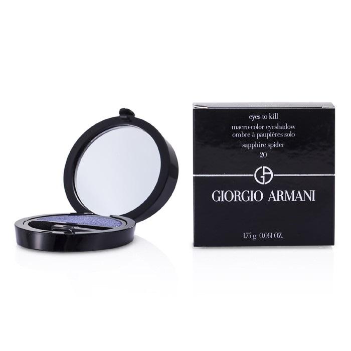 NEW Giorgio Armani Eyes to Kill Solo Eyeshadow (# 20 Sapphire Spider)