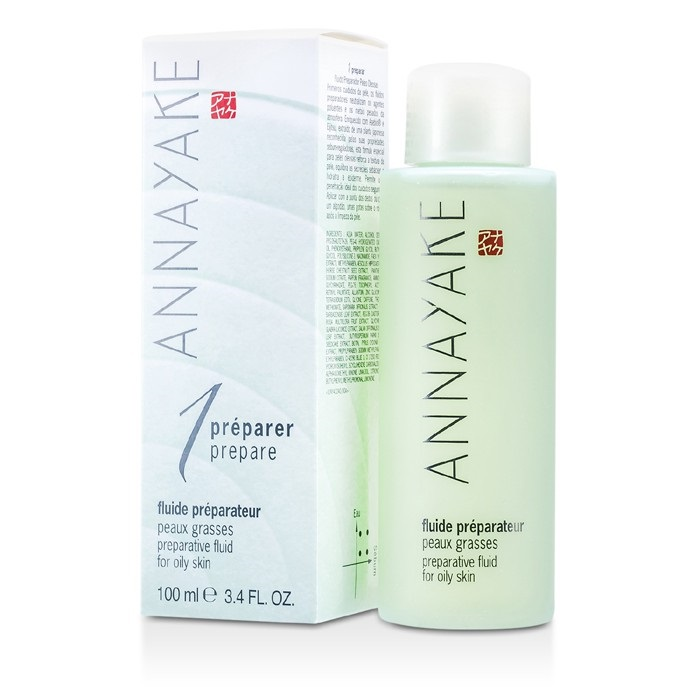 NEW Annayake Preparative Fluid For Oily Skin 100ml Womens Skin Care