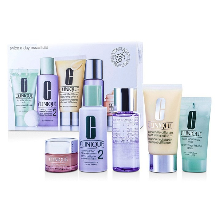 Exclusive Set: DDLM Plus 50ml + All About Eyes 15ml + Liquid Soap 30ml + Clarifying Lotion #2 60ml + Makeup Remover 50ml