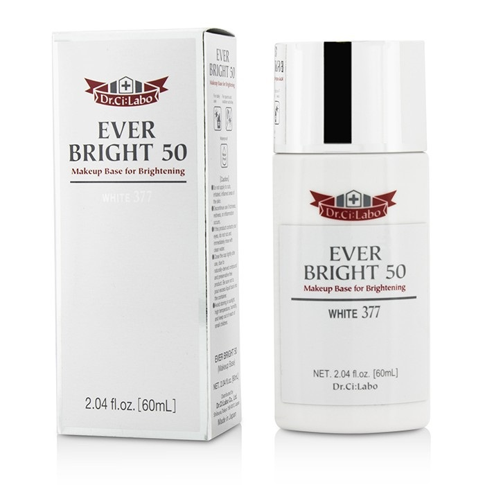 NEW Dr. Ci:Labo Ever Bright 50 Makeup Base (White 377) 60ml Womens Makeup