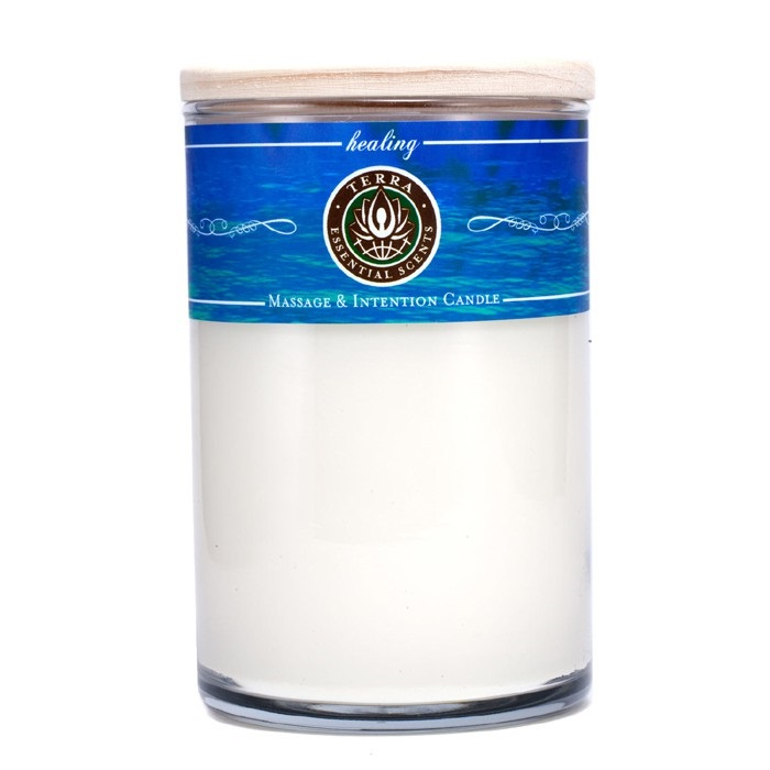 Massage & Intention Candle - Healing