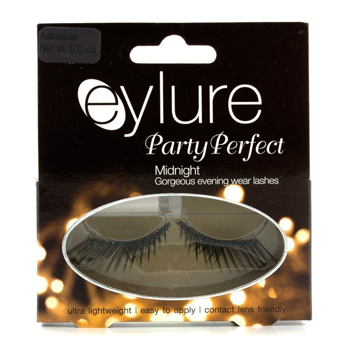 Party Perfect False Lashes - Midnight (Adhesive Included)