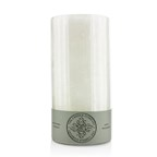 The Candle Company Pillar Highly Fragranced Candle - White Jasmine