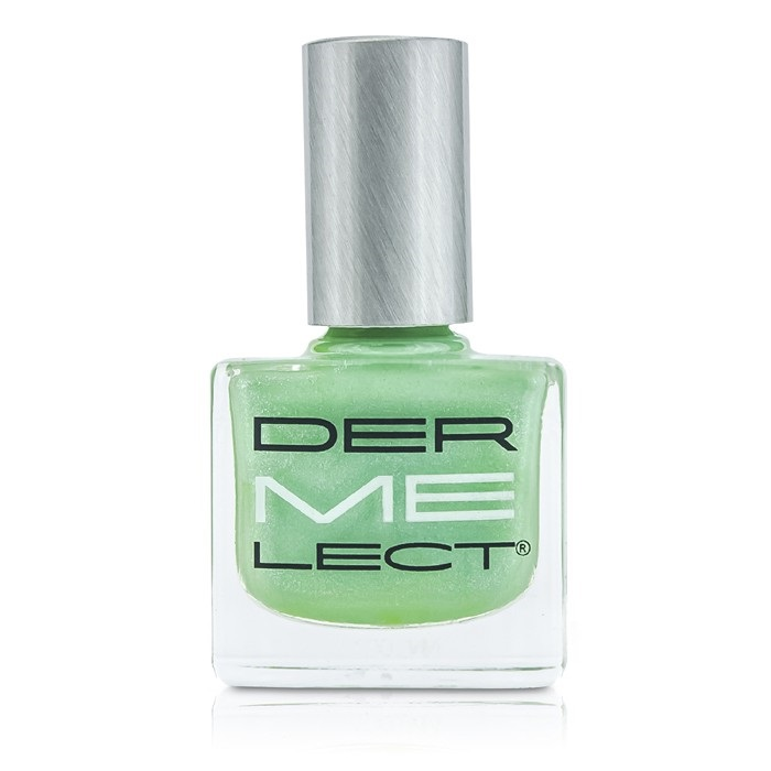 ME Nail Lacquers - Au Courant (Mint Hemlock With White Accents)