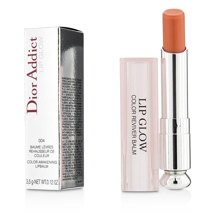 Dior Addict Lip Glow Color Awakening Lip Balm SPF 10 - #004 Coral