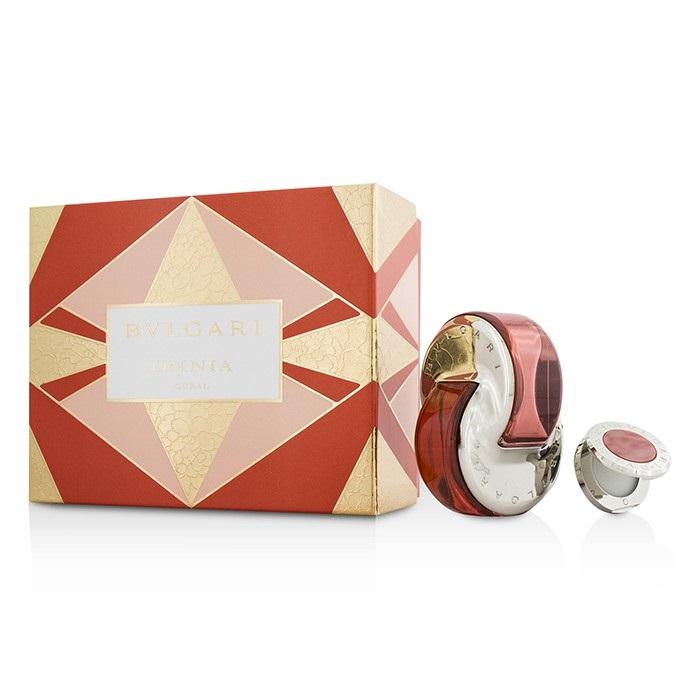 Omnia Coral Coffret: Eau De Toilette Spray 65ml/2.2oz + Solid Perfume 1g/0.03oz