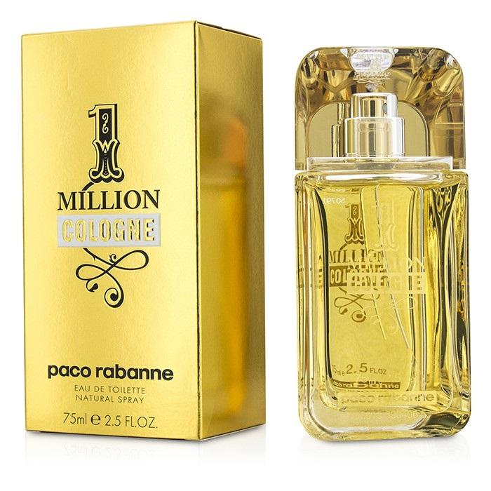 Paco Rabanne One Million Cologne EDT Spray 75ml Mens  Perfume