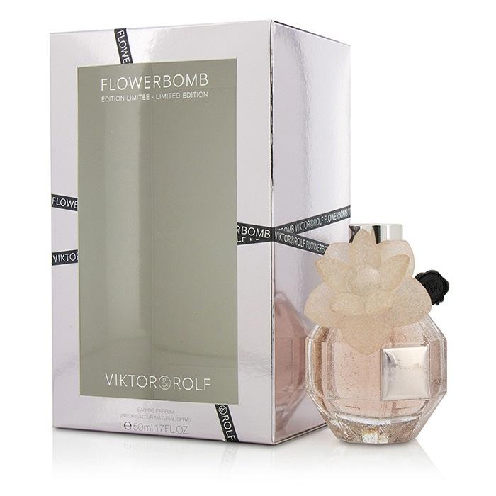 Flowerbomb Eau De Parfum Spray (Pink Crystal Limited Edition)