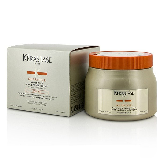 Nutritive Protocole Immunité Sécheresse Soin N°1 Durable Nourishment Anchoring Care (For All Dry Hair)