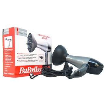 Babyliss PRO TT Tourmaline and Ceramic Professional Hair Dryer - Model # BTM5559 Hair Dryer