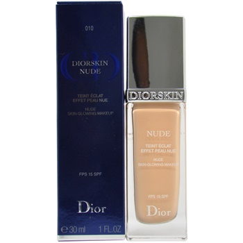 Christian Dior Diorskin Nude Skin Glowing Makeup Spf 15 - # 010 Ivory --30ml/1oz By Christian Dior
