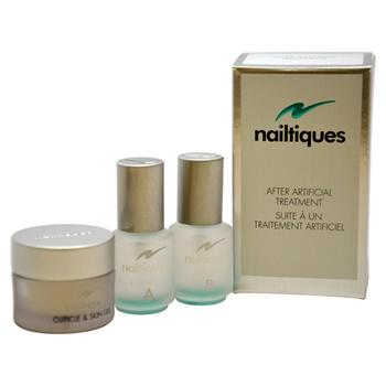 Nailtiques After Artificial Treatment Kit 7.4ml Formula A, 7.4ml Formula B, 7.09g Cuticle & Skin Gel