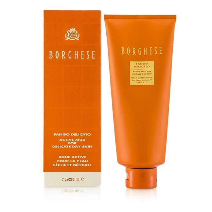Borghese Fango Delicato Active Mud for Delicate Dry Skin, 7 Oz Jason Vitamin E Beauty Oil 4 oz (Pack of 4)