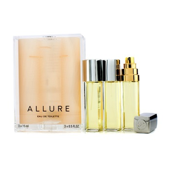 Chanel Allure EDT Purse Spray And 2 Refills