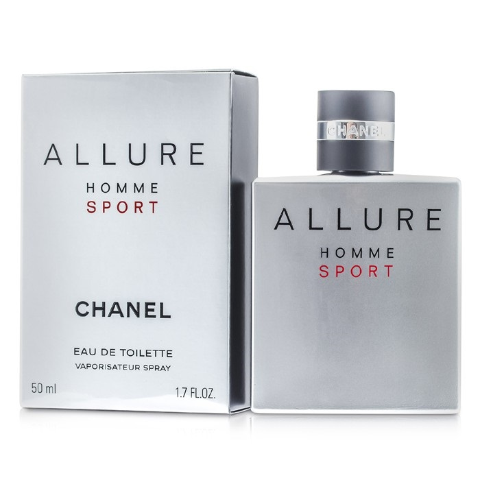 Chanel Allure Homme Sport EDT Spray   The Beauty Club™   Shop Men s ... 1f69f438144