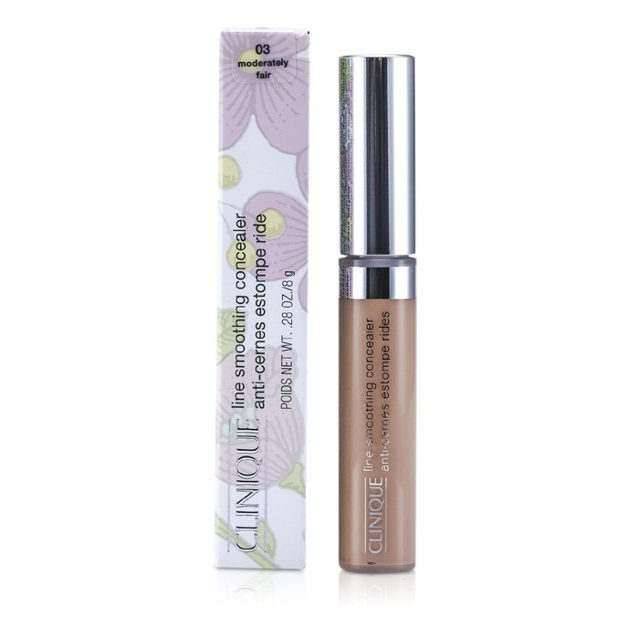 NEW Clinique Line Smoothing Concealer #03 Moderately Fair 8g Womens Makeup