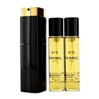 Chanel No.5 EDT Purse Spray And 2 Refills (Limited Edition)