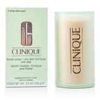 Clinique Facial Soap - Oily Skin Formula (With Dish)