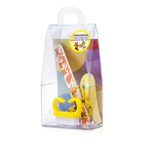 Tweezerman Children's Care Kit: Baby Nail Clipper+ Baby Nail File+ Nail Brush+ Baby Nail Scissors