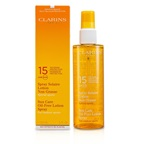Clarins Sun Care Spray Oil-Free Lotion Progressive Tanning SPF 15 (For Outdoor Sports)