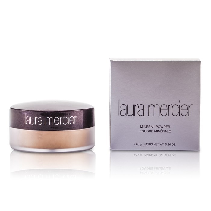 Laura Mercier Candleglow Powder Swatches: Laura Mercier Mineral Powder SPF 15