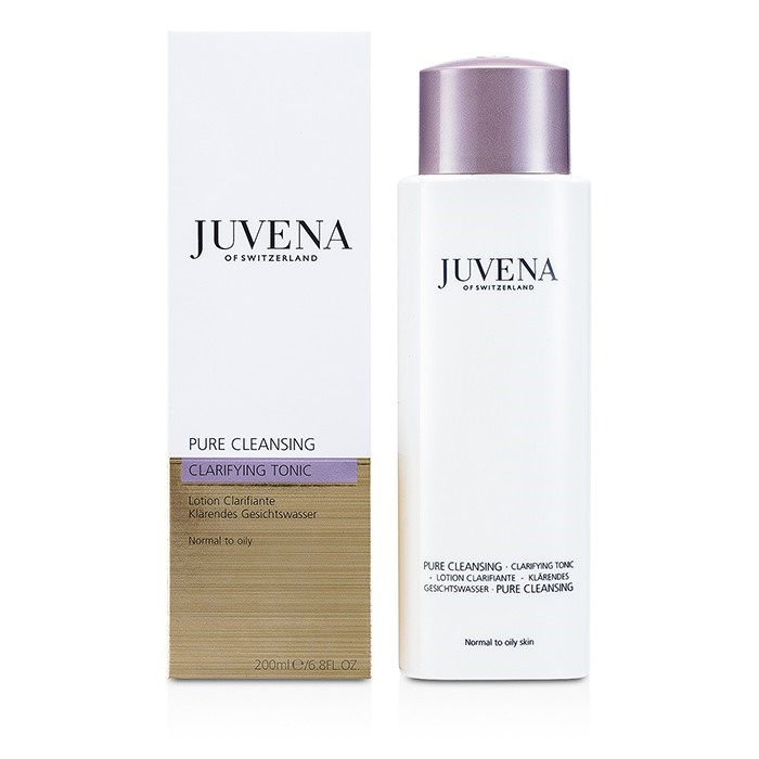 Juvena Pure Clarifying Tonic 200ml/6.8oz Ponds Wet Cleansing Towelettes, Morning Fresh, 30 Each (Pack of 6)