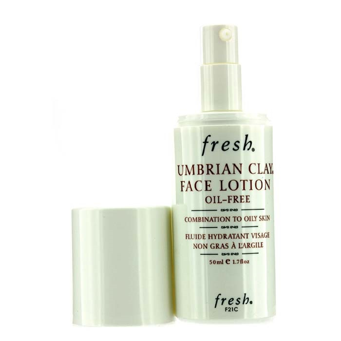 Fresh Umbrian Clay Oil-Free Face Lotion - For Combination to Oily Skin