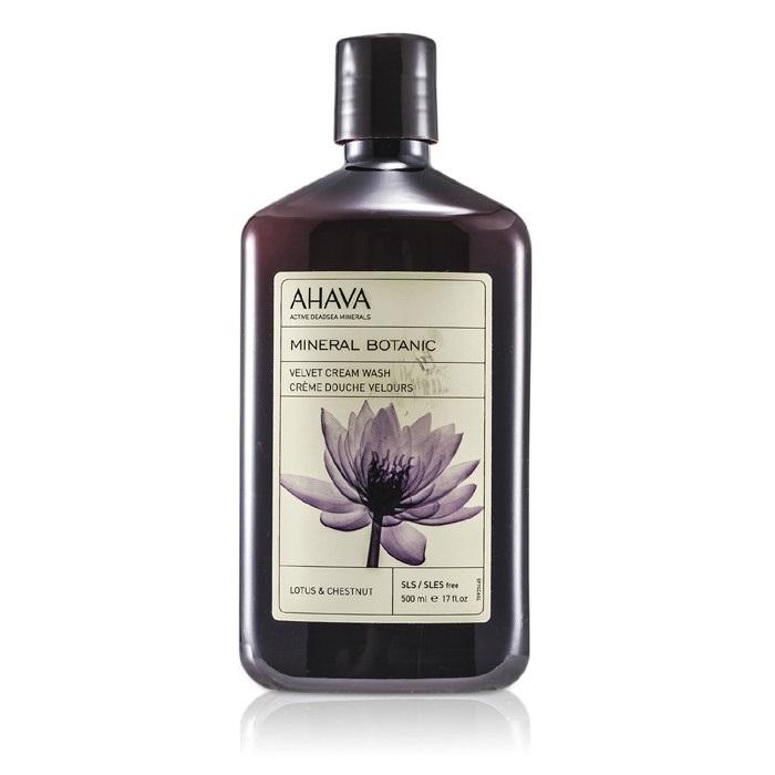 Ahava Mineral Botanic Velvet Cream Wash Lotus Flower Chestnut