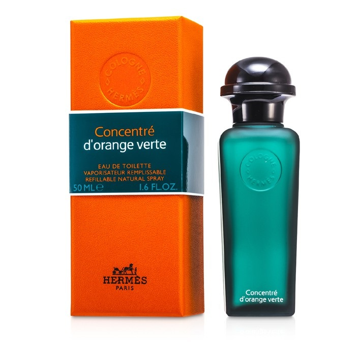 hermes d 39 orange verte edt refillable concentrate spray the beauty club shop men 39 s fragrance. Black Bedroom Furniture Sets. Home Design Ideas