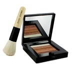 Bobbi Brown Bronze Shimmer Brick Set: Bronze Shimmer Brick Compact + Mini Face Blender Brush (Limited Edition)