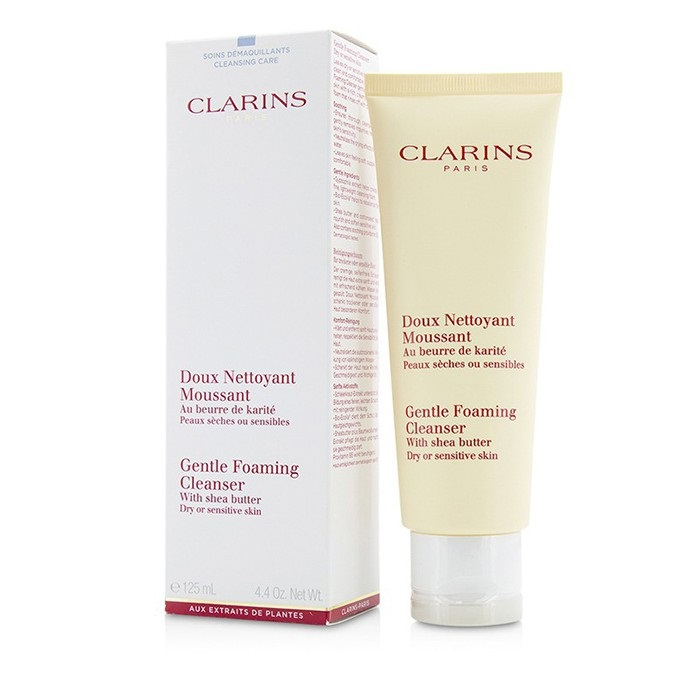 Clarins Gentle Foaming Cleanser with Shea Butter - Dry or Sensitive Skin