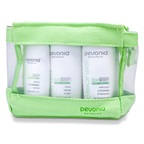 Pevonia Botanica SpaTeen All Skin Types Kit: Cleanser 120ml + Toner 120ml + Moisturizer 50ml