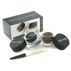 Bobbi Brown Long Wear Gel Eyeliner Duo: 2x Gel Eyeliner 3g (Black Ink, Sepia Ink) + Mini Ultra Fine Eye Liner Brush