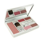 Clinique Compact Colour Makeup Palette (Powder Blush + 2x Lipstick + Eye Shadow Duo + 3x Applicator)