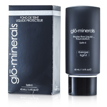 GloMinerals GloProtective Oil Free Liquid Foundation Satin Finish - Beige Light