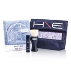 Jane Iredale H\E Minerals Kit: Lip Balm SPF 15 + Facial Brush + Wash Glove + Bag