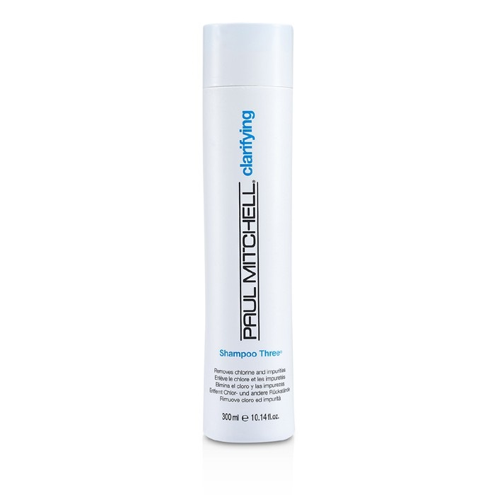Paul Mitchell Clarifying Shampoo Three (Removes Chlorine and Impurities)
