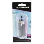 Tweezerman Mini Brow Rescue Kit: Slant Tweezer + Browmousse + Brow Brush + Eyenhance Brow Highlighter + Case
